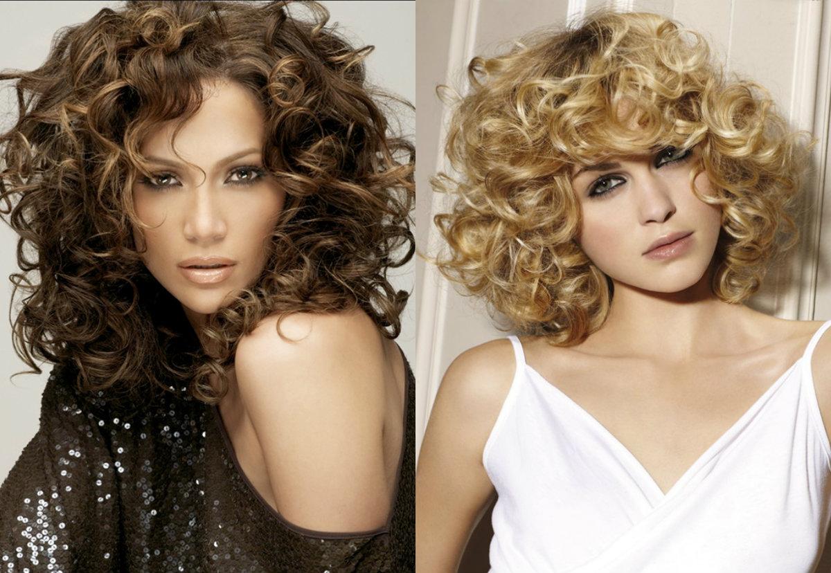 Прически года вьющиеся волосы