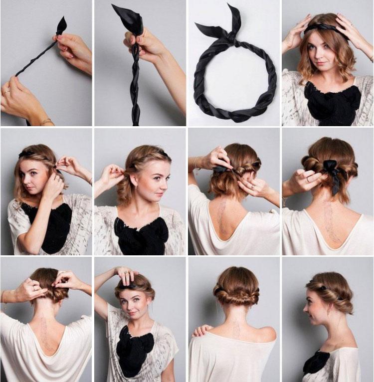Cмелые прически на короткие волосы (50) 91