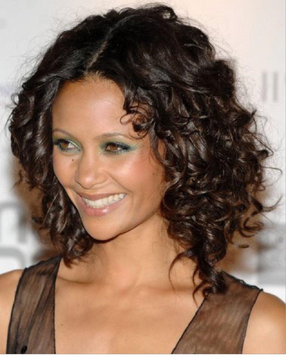 Кудрявые прически на средние волосы из прямых волос
