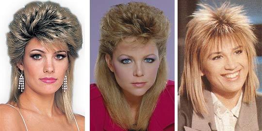 Fryzury Dla średnich Włosów W Stylu 80 X Modne Obrazy