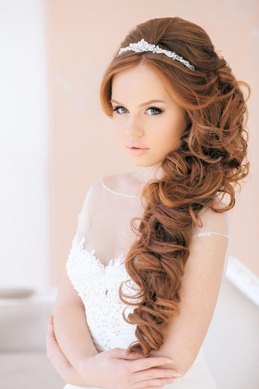 Свадебные прически в греческом стиле для длинных волос