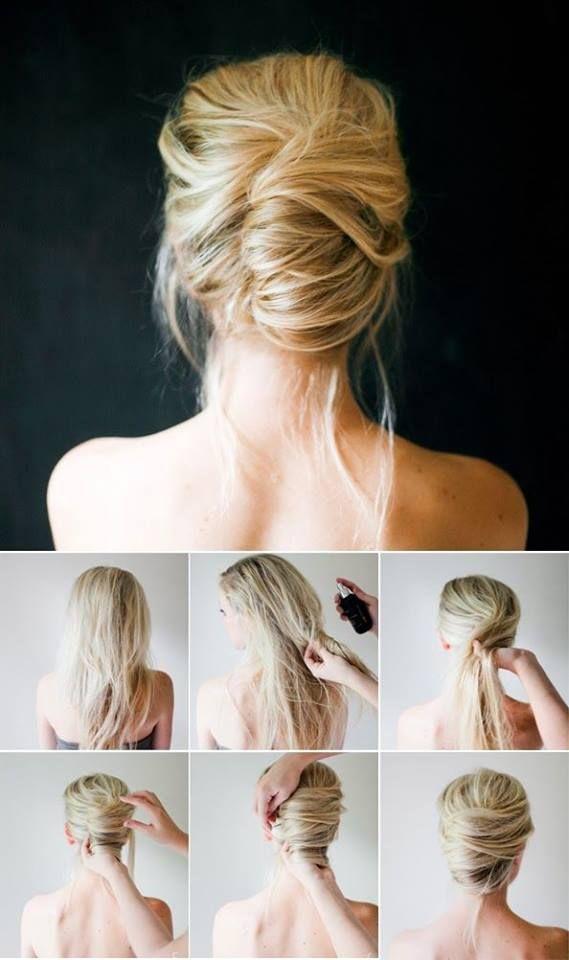 Прически своими руками на длинный волос в домашних условиях 13