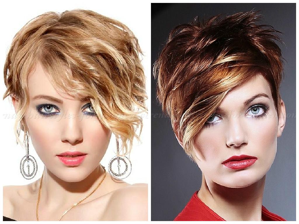 Прически для ассиметричной стрижки на коротких волосах